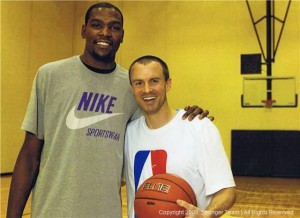 Basketball Strength Coach Alan Stein and Kevin Durant