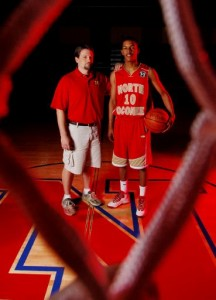 Coach Hal Wilson and Ja'Rius Ross Picture