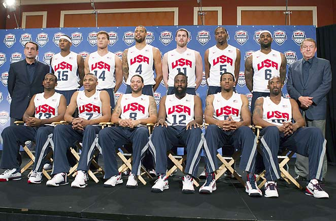 2012 USA Olympic Basketball Team