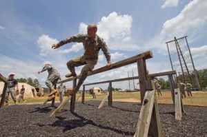 Airborne Obstacle Course