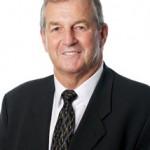 Former UConn Head Men's Basketball Coach Jim Calhoun