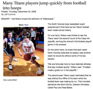 Online Athens Article- Coach Hal Wilson